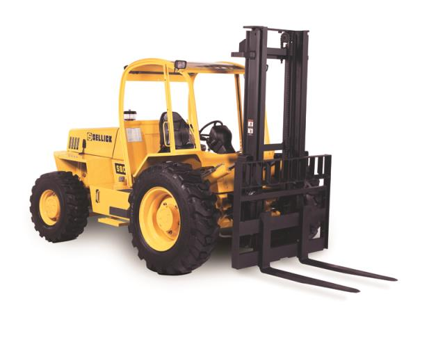 Rent Forklifts Rough Terrain Straight Mast